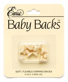 Love this Soft Earring Backs - Set of Three on #zulily! #zulilyfinds