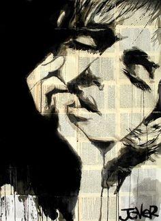 "Saatchi Online Artist Loui Jover; Drawing, ""dreaming the same dream"" #art"