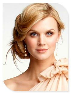 wedding hairs.. I like the front but not that those weird side hairs are sticking out