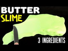 How to make slime without glue or borax 2 ways easy slime recipe how to make fluffy butter slime easy no borax baking soda contact lens ccuart Image collections