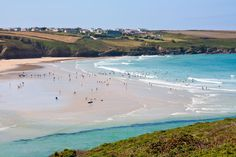 Crantock Beach near Newquay West Cornwall, Devon And Cornwall, Cornwall England, Beautiful Places To Visit, Beautiful Beaches, Crantock Beach, Cornish Beaches, The Beach, Beach Uk