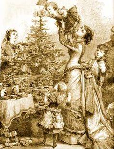 "Victorian Christmas | Christmas Tree, Victorian Era ""Christmas"" (pronounced Kris'mas ..."