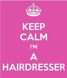 Hairdresser.. 2 more weeks!