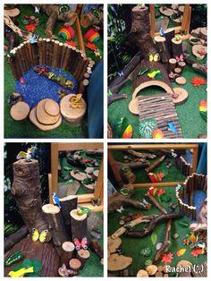 """Butterflies, birds & frogs - from Rachel ("""",) Some wonderful play ideas"""