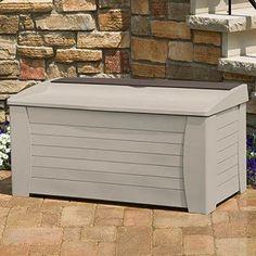 Outdoor Storage Bench Garden Ideas Plastic Garden