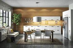 Cuisine ouverte salon 25m2 - Cuisine en image | rubricàbrac ...