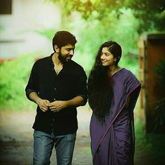 every minute spent with you was a dream come true.Still waiting for the day Love Couple Images, Cute Love Couple, Couples Images, Cute Couples, Movie Pic, Movie Photo, All Time Hit Songs, Cute Couple Selfies, Sai Pallavi Hd Images