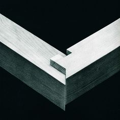 Rabbeted tenoned miter joint. From The Art of Japanese Joinery by Kiyosi Seike.