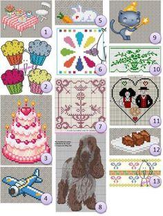 Free cross-stitch charts | Needlework News | CraftGossip.com