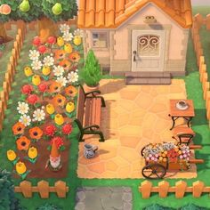 Front Yard Design, Animal Crossing Qr Codes Clothes, Island Design, Cute Animals, Backyard, Photo And Video, Amazing, Painting, Instagram