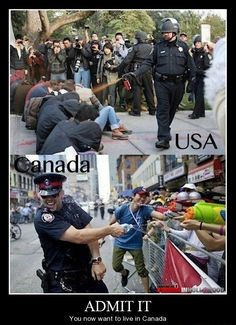 Canadian, please! I wonder if all Canadian cops are that hot...