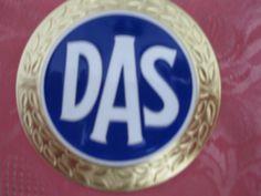 Rarität !  Autoplakette - DAS - Rechtsschutz Oldtimer TOP !!!