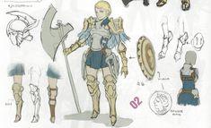 Fire Emblem: Awakening Concepts - Griffon Rider
