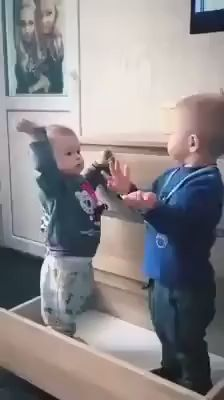 Watch the video and join the fun convo with community Cute Funny Baby Videos, Cute Funny Babies, Funny Baby Memes, Funny Videos For Kids, Funny Short Videos, Funny Video Memes, Really Funny Memes, Funny Cute, Cute Kids
