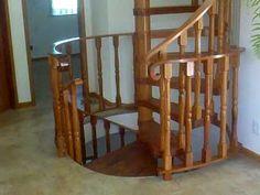 escada caracol rústica - Pesquisa Google