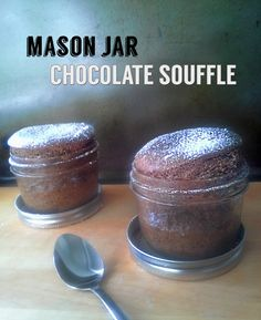 Mason Jar Kitchen: Conquering Chocolate Soufflé Cannot wait to try this!! Just sub the sugar for coconut sugar!