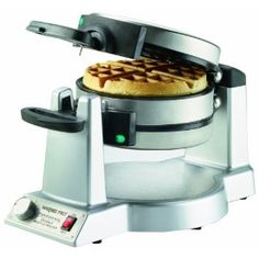 Double Belgian Waffle Maker - I got this for Christmas from Hubby. It helps hurry up the waffle making for the impatient kiddos :)