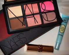NARS Danmari Palette Too Faced Shadow Insurance YSL Lipstick