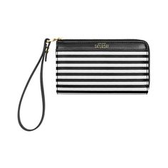Coated Canvas Tech Wristlet in Crosswalk Stripe - Kate Spade Saturday Christmas Planning, Kate Spade Saturday, Bag Accessories, Handbags, Wallet, Canvas, My Style, Coat, Gifts