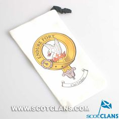 Lindsay Clan Crest Phone / Spectacle Case