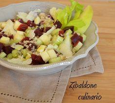Zibaldone culinario: Insalata di quinoa con barbabietola rossa e mela verde