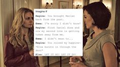 Fan theories about Elsa on OUAT - this one is my fav. LOL. (Belle...don't read this. Spoilers. :D)