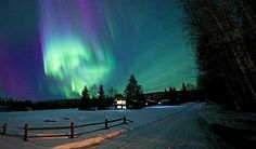 Top 10 places to view northern lights