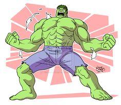 Angry Hulk by BezerroBizarro.deviantart.com on @deviantART