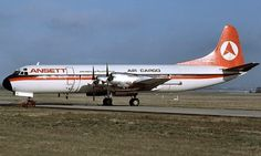 ANSETT Lockheed L-188A Electra (VH-RMG)