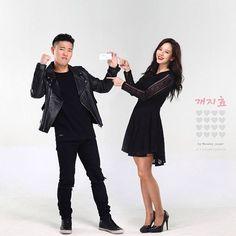 Monday Couple for Kyungdong Phramaceuticl Photoshoot