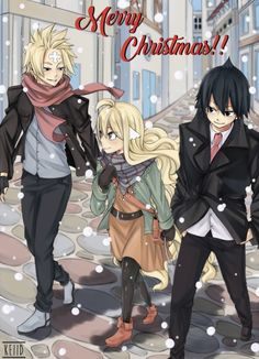 Is that...sting? If so, why would he be with Mavis and Zeref?