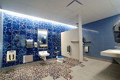Image result for family restroom Decor, Bathroom Lighting, Lighted Bathroom Mirror, Restroom, Home Decor, Bathroom Mirror, Light, Bathtub, Mirror