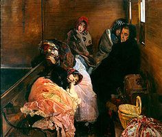Trata de blancas. Museo Sorolla. 1894