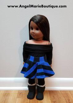 Skater Skirt for 18 inch Dolls such as American Girl Dolls