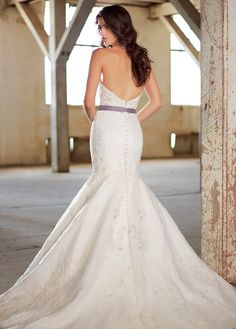 NEW! Romantic Tulle Sweetheart Neckline Natural Waistline Mermaid Wedding Dress With Beaded Lace Appliques
