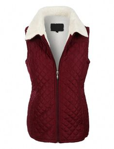 Find the best shirt for mothers who might brave the weather. Puffer Vest, Puffer Jackets, Patagonia Vest Outfit, Vest Outfits, Faux Fur Vests, Sherpa Lined, Vest Jacket, Cool Shirts, Zip Ups