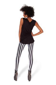 Beetlejuice Leggings - Black Milk Clothing