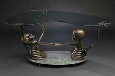 skull table
