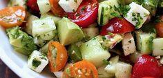 Une salade qui vous aidera à dégonfler le ventre et perdre du poids rapidement
