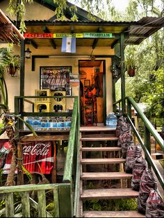 typical store on the islands in the Parana River Delta, Tigre, Buenos Aires, Argentina Delta Tigre, Art Nouveau Arquitectura, South America Travel, Famous Places, Color Of Life, Central America, Vacation Spots, Wonders Of The World, Places To Visit