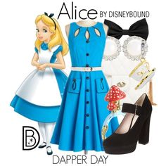 """""""Alice"""" by leslieakay on Polyvore"""