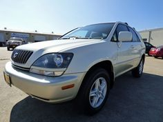 Barely Driven! Don't Miss Out on this 1-Texas-Owner 2000 #Lexus RX 300 #AWD #SUV with Leather; Heated Seats; Sunroof; New Tires; Just 78K Miles & a Clean CARFAX for Only $7,990! -- http://hertelautogroup.com/2000-Lexus-RX300/Used-SUV/FortWorth-TX/8828496/Details.aspx  #lexusrx #rx300 #firstcar #goodcar