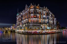 Hotel De L'Europe by mofotografie #architecture #building #architexture #city #buildings #skyscraper #urban #design #minimal #cities #town #street #art #arts #architecturelovers #abstract #photooftheday #amazing #picoftheday