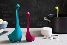 We dare you not to smile as you take a look at these cute, inessential kitchen tools. Plus these are great for gifts!