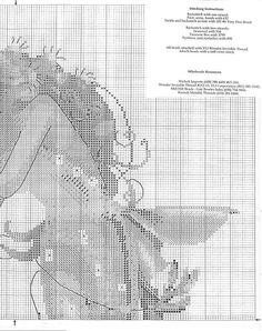 The Queen Mermaid - 3/5 Solo Patrones Punto Cruz (pág. 344) | Aprender manualidades es facilisimo.com