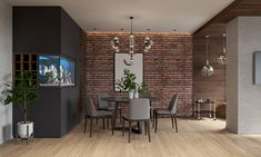 Modern living room on Behance
