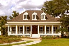 wrap around porch and columns | RJ Elder Design