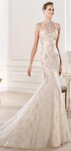 Pronovias Wedding Dress - 2014 Atelier - Uniquely Yours Bridal Showcase adores!