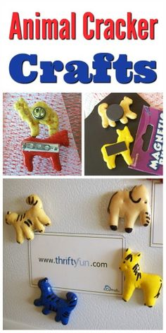 This is a guide about making animal cracker crafts. You probably have never thought of animal crackers and crafts together, other than as a snack while crafting. Well, here are some ideas for making exciting unique animal cracker crafts.