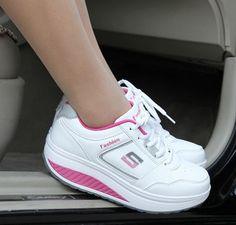 Women s Shoes Women s Fashion Sneakers Free Shipping! Slimming sneakers for  women 895c2621760a